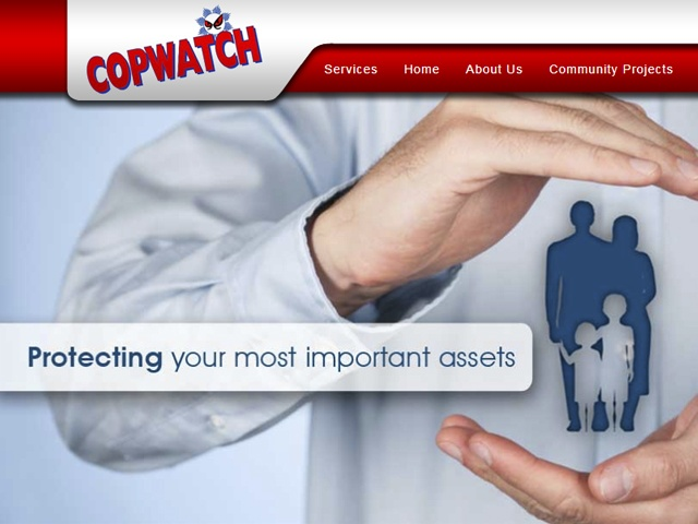 Website Designers Gallery - Copwatch Website Design
