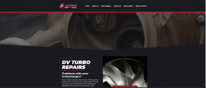 Website  Designers Gallery - DV Turbo Repairs Website Design