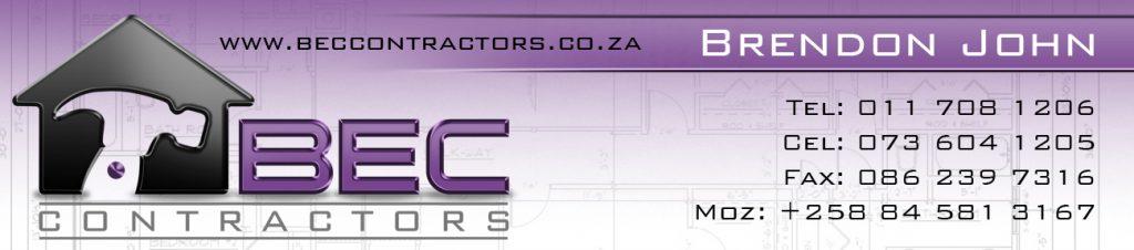 Branding Stationery-Email Signature Design- BEC Contractors