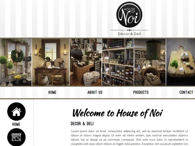 Website Designers Gallery - House of Noi Website Design