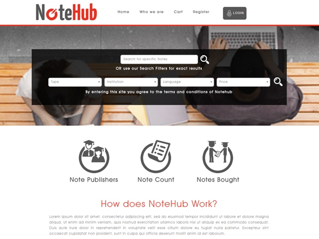 Website Designers Gallery - Notehub Website Design