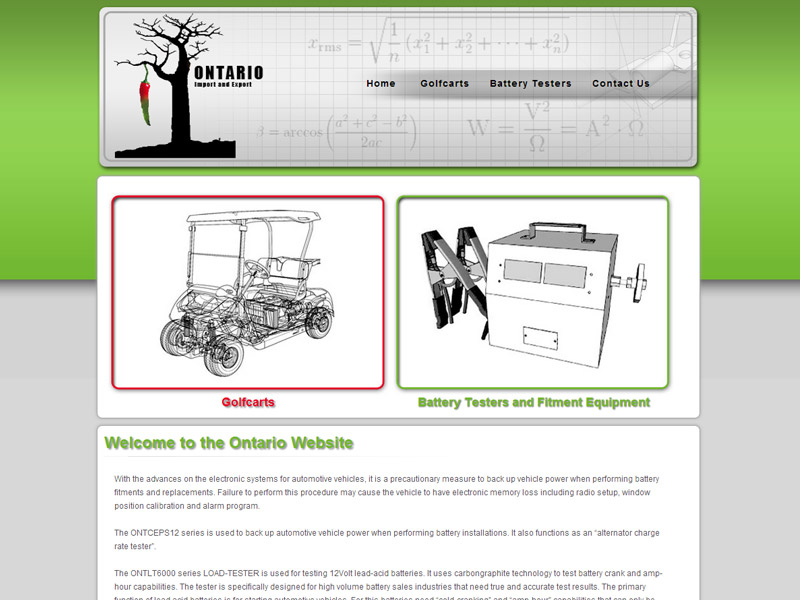 Website Designers Gallery - Ontario Website Design