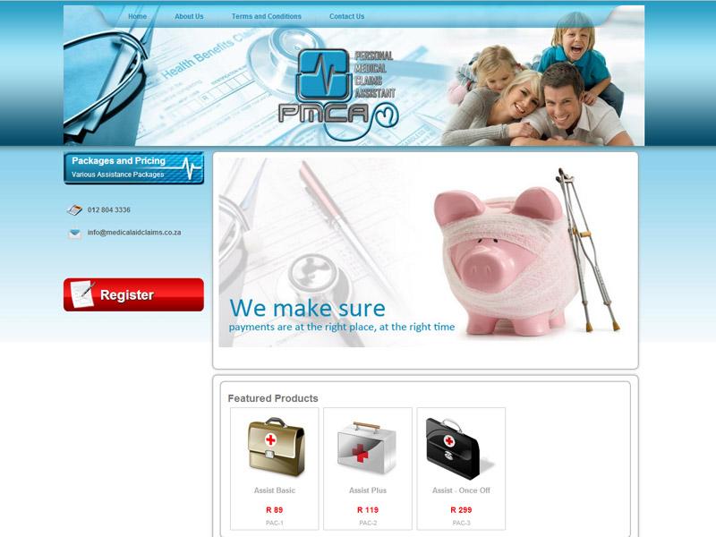 Website Designers Gallery - PMCA Website Design