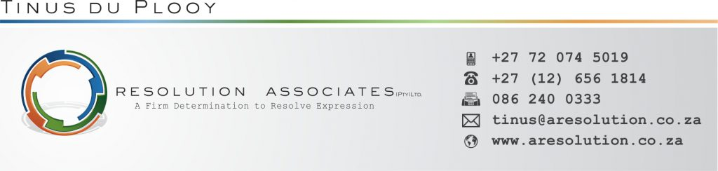 Branding Stationery-Email Signature Design- Resolution Assocciates