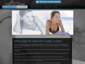 Website Designers Gallery - Smooth Laser Website Design