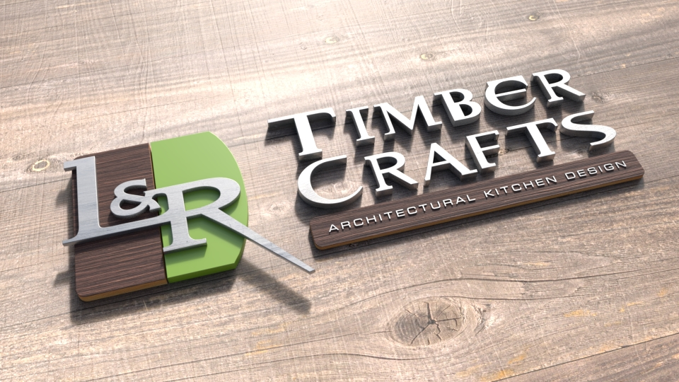 Logo Designers Gallery -Timber Craft 3D Logo Design