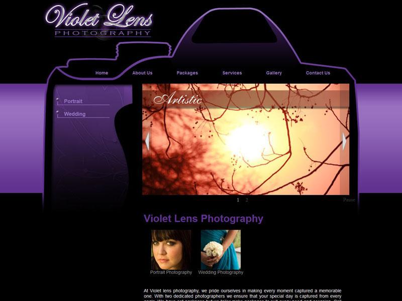 Website Designers Gallery - Violet Lens Website Design