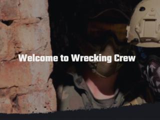 Website Designers Gallery -Wrecking Crew Website Design