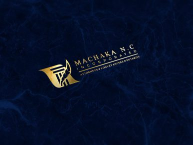 Machaka Law Logo Design