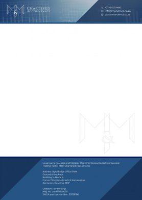 MMCA Letterhead Design