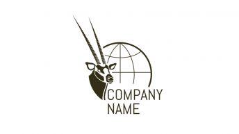 Brand Box Logo Design Monochrome