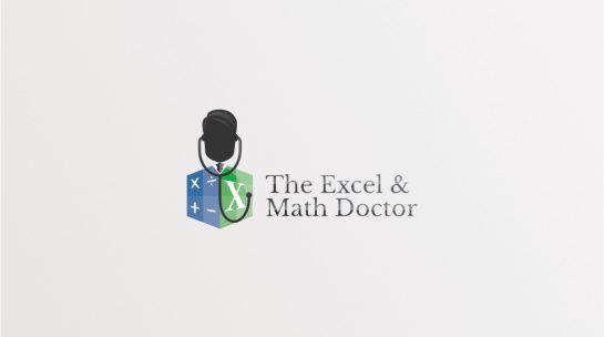 Excel and Math Logo Design Draft 1.3 Colour