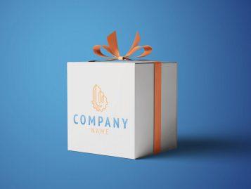 Brand Box 4 Mockup