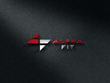 Logo Designers Gallery - Alpha Fit Logo Design