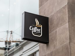 LaRu Coffee Logo Design