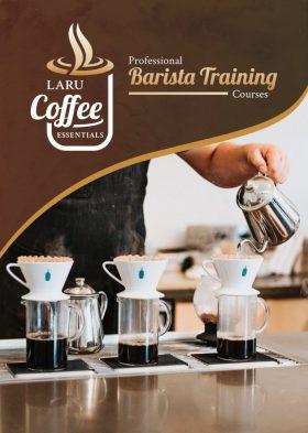 LaRu Coffee Flyer Design Front