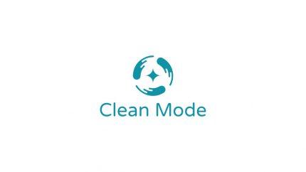 Clean Mode Logo Design Draft 1.1 Monochrome