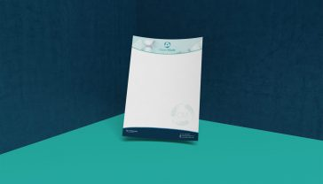 Clean Mode Brand Identity Design - Letterhead