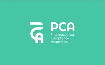 PCA Logo Design Monochrome Inverted