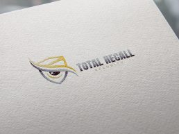 Total Recall Logo Design Draft 1.3 - MOCKUP