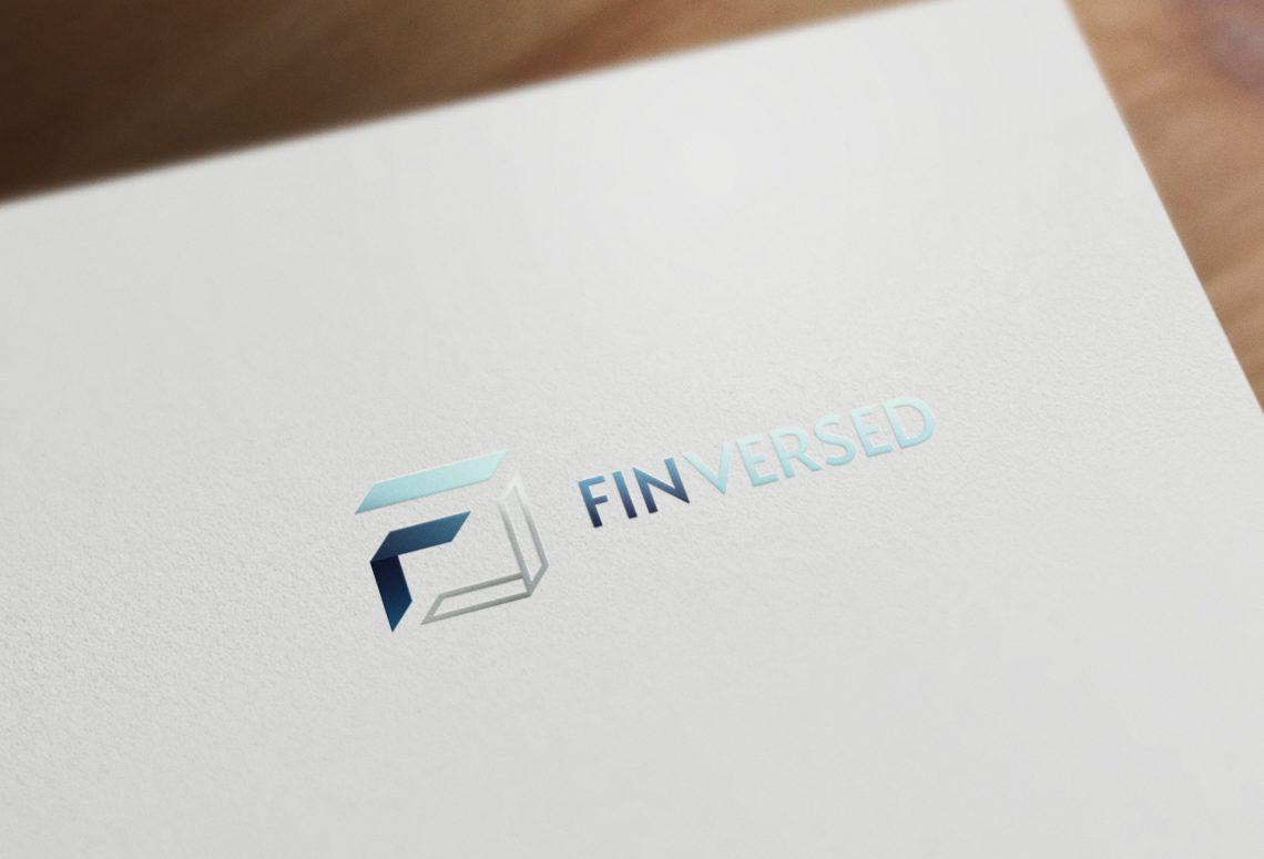 Finversed Logo Design Draft 2 MOCKUP